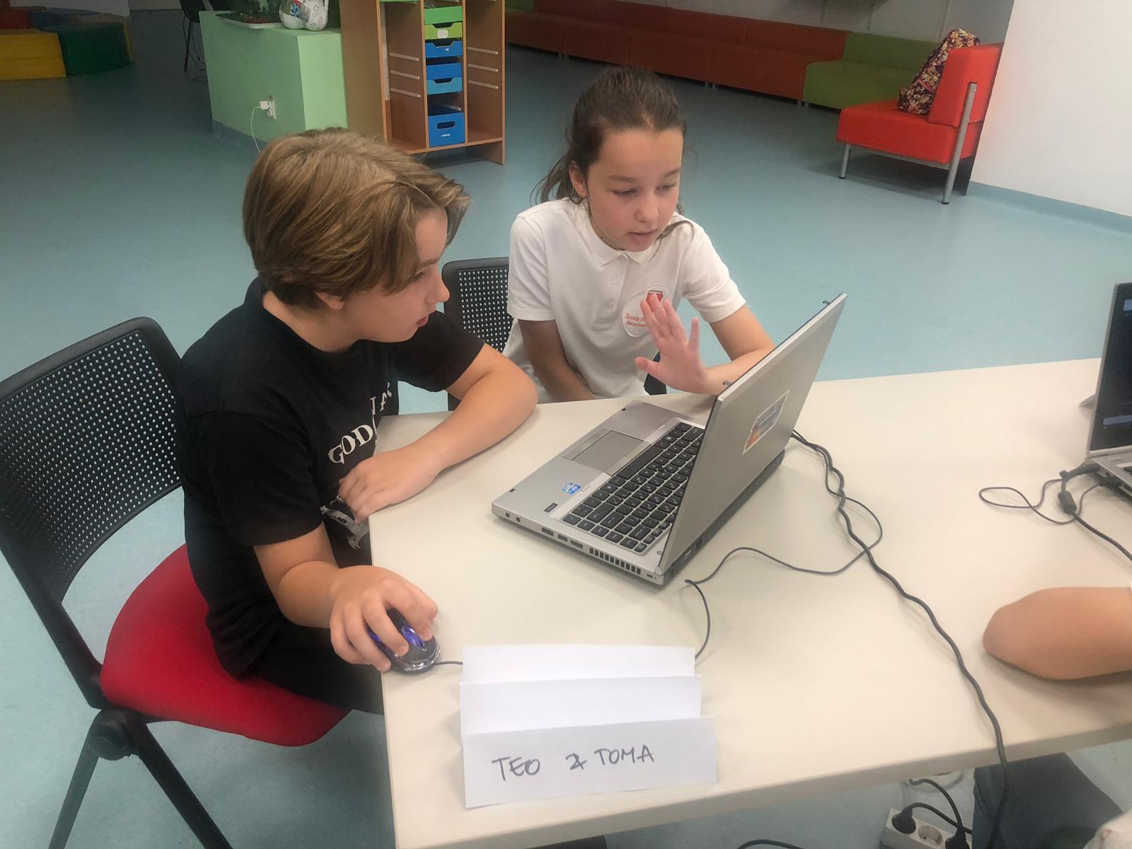 Hackathon Școala Gimnazială Step by Step - Ediția I